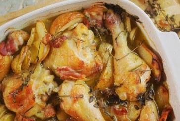 Dóra csirkés egytálétele - recept