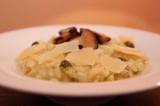 Gordon Ramsay receptje – Rizottó sült cukkinival és gombával