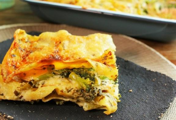 Lazacos lasagne, recept