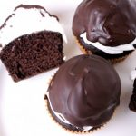Csokiba mártott muffin, recept