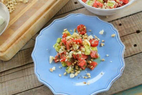 Ütős segítség Kánikula idején – Görögdinnye saláta, recept