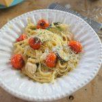 Mascarponés-csirkés pasta,recept