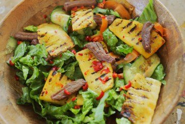 Jani marhahús salátája, recept