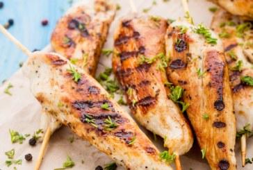 Pestós csirkenyárs, recept