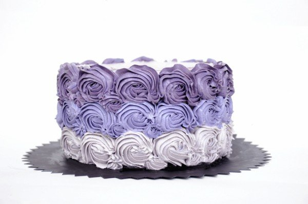 Rózsás torta