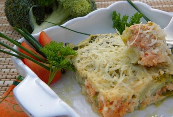 Csőben sült brokkoli, recept
