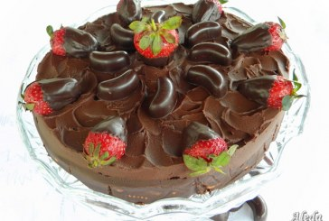Csokis keksztorta, recept