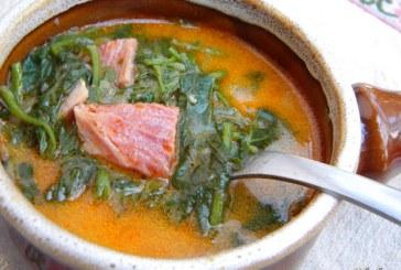Komló leves, recept