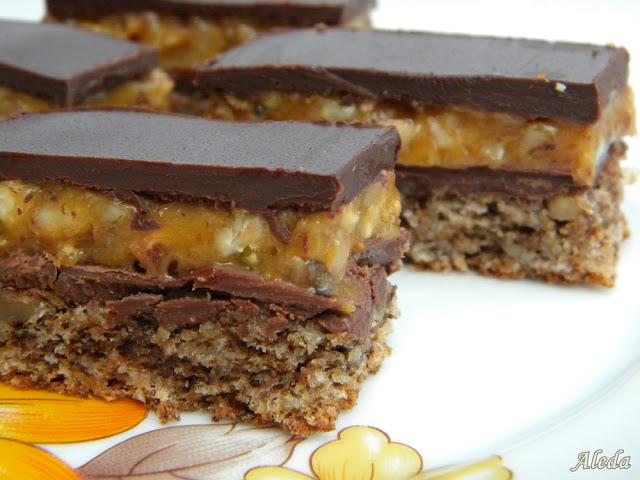 Snickers sütemény