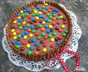 M&M's torta