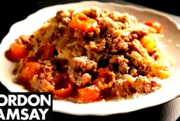 Gordon Ramsay féle Bolognai szósz, recept és videó