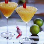Mangós chilis ital; coctail recept