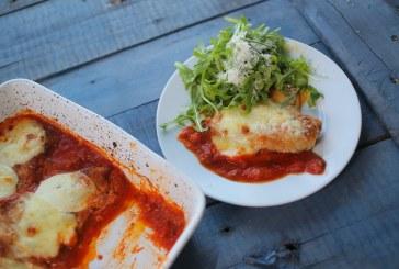 Laza olasz kaják: Parmezános csirke