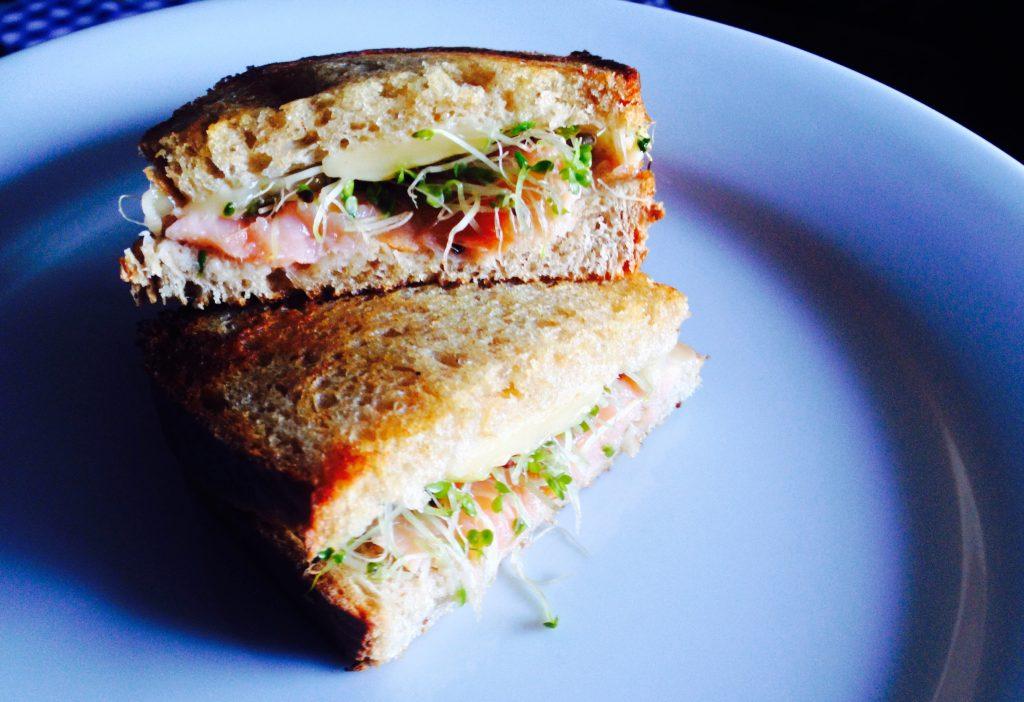 Könnyű Lazacos szendvics reggelire