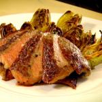 Gordon Ramsay – Rib eye (rostélyos) steak grillezett articsókával, recept és videó