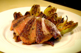 Gordon Ramsay - Rib eye (rostélyos) steak grillezett articsókával, recept és videó