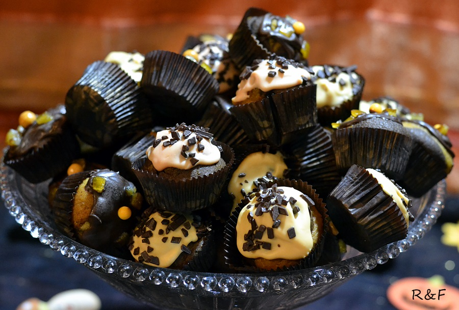 Puha sütőtökös cupcake
