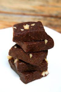 Sütés nélküli brownie