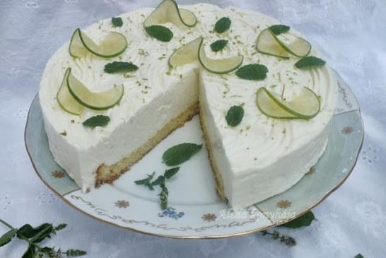 A Light Zöldcitromos torta, recept