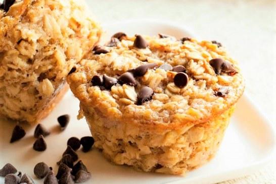 Ettől a muffintól nem fogsz elhízni: banános zabkásamuffin