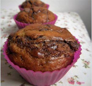 Banános nutellás muffin