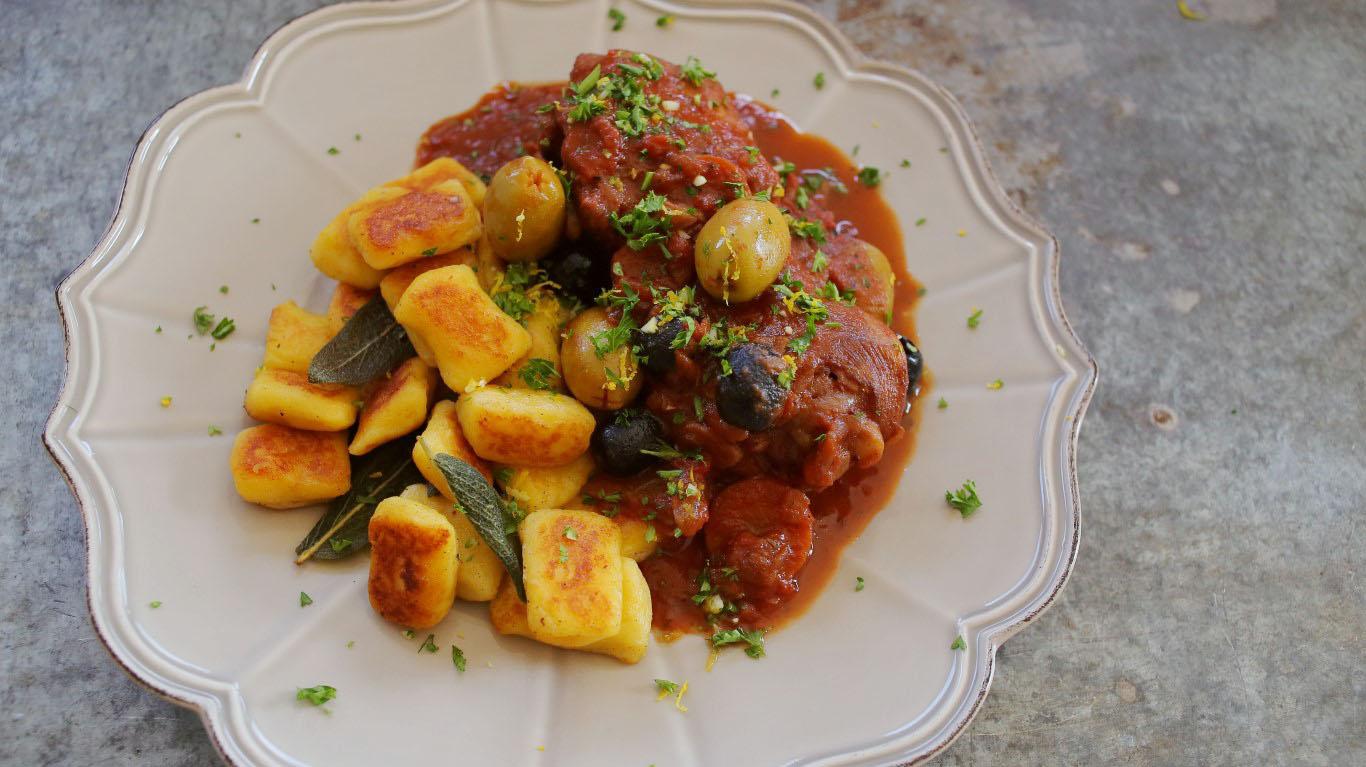 Az olaszok csirkepaprikása - Cacciatore csirke