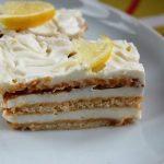 5 perces: Igazán krémes Citromos kekszes süti, recept