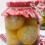 Ecetes almapaprika káposztával töltve, recept