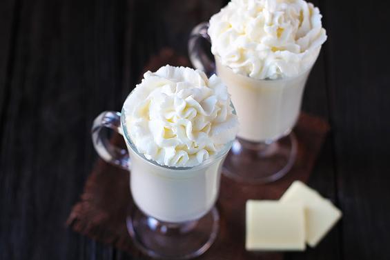 5 perces fehér csoki ital