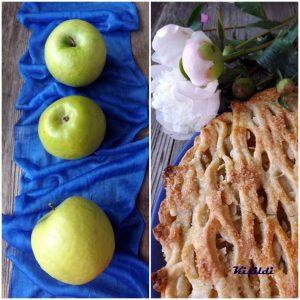 Gyömbéres almás pite
