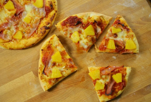 Hawaii Pizza, recept