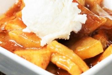 Isteni őszi édesség: karamellás sült alma, recept