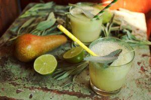Körtés-bodzás limonádé