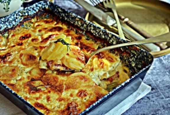 Krémes, francia rakott burgonya, recept