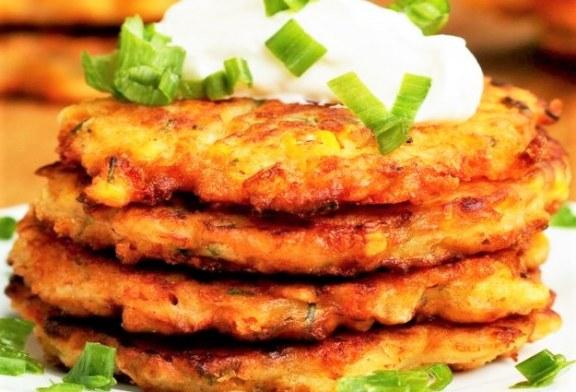 Süss sajtos – kukoricás tócsnit! , recept