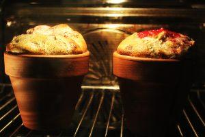 Mákos guba cserépben sütve