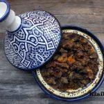 Marokkói Bárányhús tagine aszalt barackkal, recept