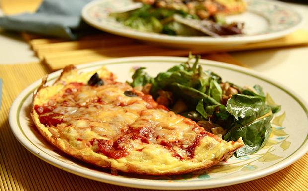 A Hamis pizza fogyókúrázóknak