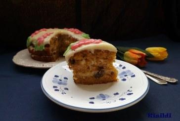 Répatorta azaz carrot cake, recept