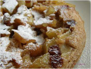 Serpenyőben sült almás süti