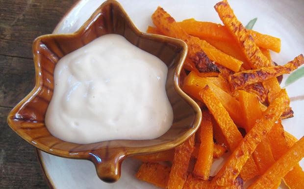Cseréld le a krumplit! sült sütőtökhasábok