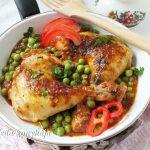 Zöldborsós csirke, recept