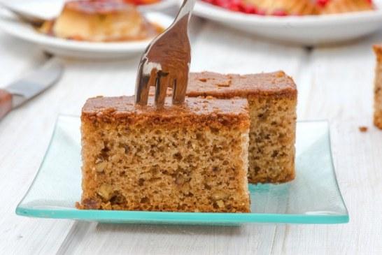 Egyszerű reszelt almás süti, recept