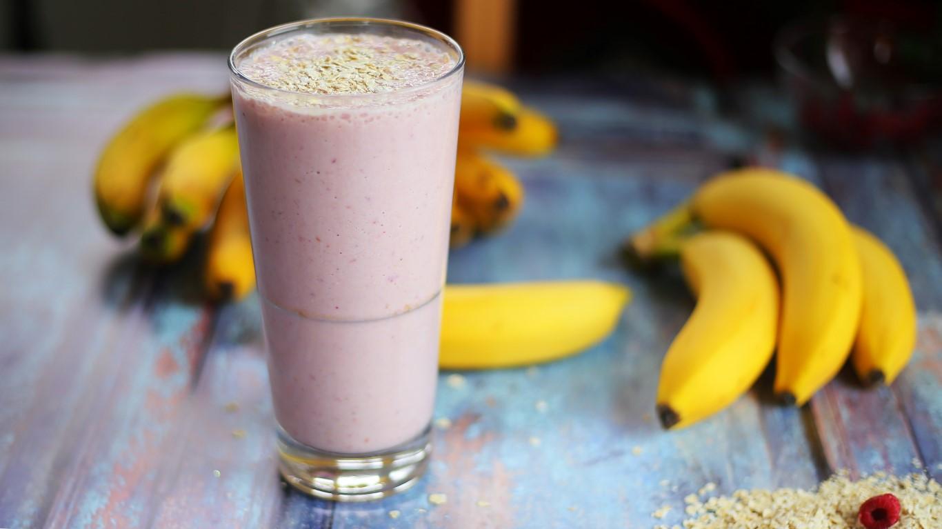 Banános reggeli turmix