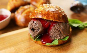 Briós fagyi burger