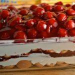 Cseresznyés krémes csoda –  sütés nélküli finomság, recept