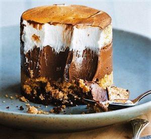 Sütés nélkül: Csokoládés citromos habszelet