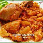 Izgalmas Csirkés egytál-étel, recept
