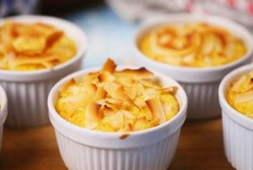 Mangós-kókuszos rizsfelfújt, recept