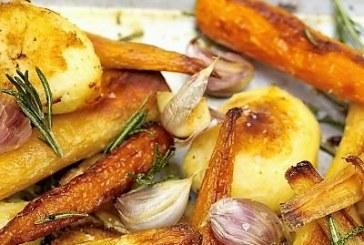 Jamie Oliver - Karácsonyi sült krumpli, répa, paszternák, recept